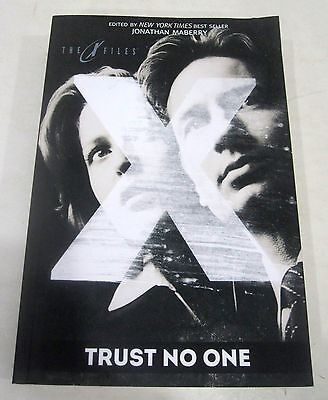 The X-Files Trust No One Prose Novel Book