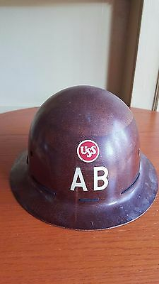 AMERICAN BRIDGE COMPANY UNITED STATES STEEL HARD HAT  make an offer!  FULL BRIM