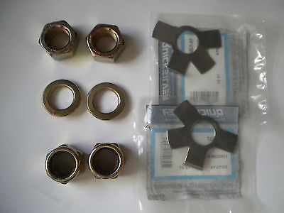 Mercruiser Front Motor Mount Hardware Nuts Bolts Tab Washers Nyloc