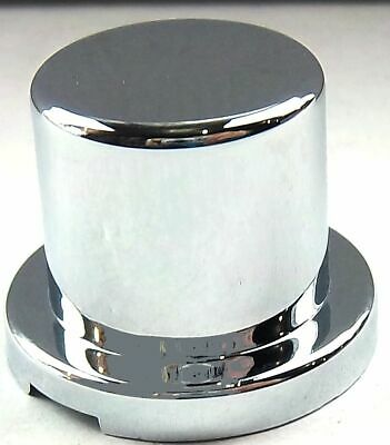 "nut covers(10) 5/8"" & 15mm flat top hat chrome plastic 15/16"" tall Freightliner"