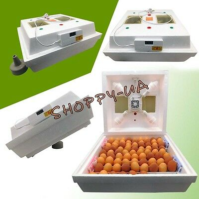 Domestic Egg Incubator For 70  Eggs ~ Body Turning ~ With Fan
