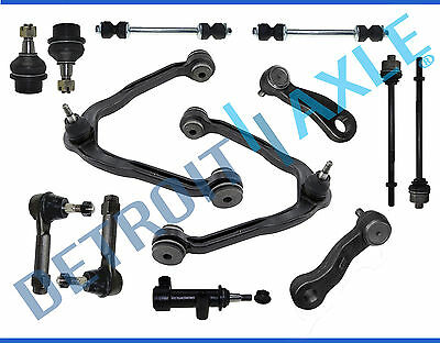 New 13pc Complete Front Suspension Kit for Chevy & GMC 1500 Trucks 6-Lug 4x4