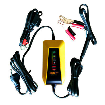 Motobatt Little Boy Battery Charger / Tender. 6 & 12 Volt. All Battery Types.