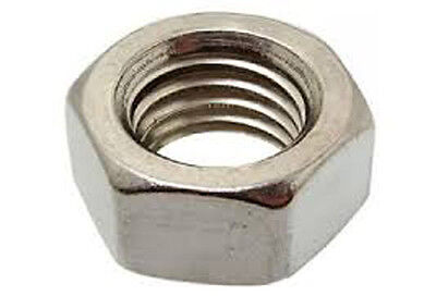 Metric Stainless Steel M10 X 1.5 Hex Nut A4 316  pack of 10