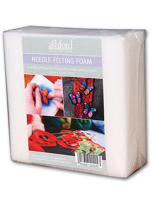 FOAM BLOCK for Needle Felting  150mm x 150mm x 50mm Perfect for needle felting