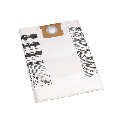 Shop Vac 906-63 3 DISPOSABLE COLLECTOR VACUUM FILTER BAGS 16-22 US GALLON 905-33