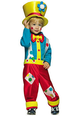 Circus Clown Boy Outfit Toddler Halloween Costume