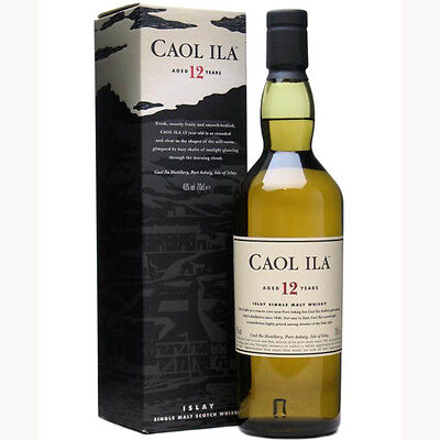Caol Ila 12 Year Old Scotch Whisky 700mL