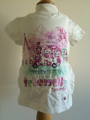 Mayoral Baby Girl Pink Bus Top BNWT 12 & 24 Months
