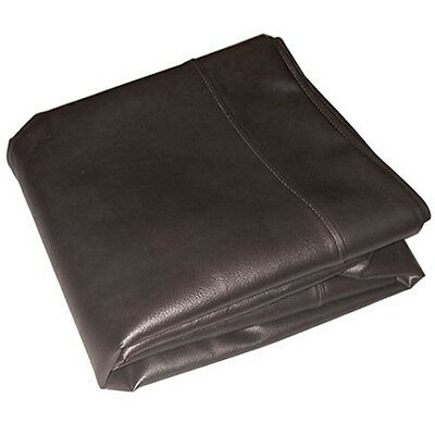 Black Heavy Duty Leatherette Cover For 9Ft Tables