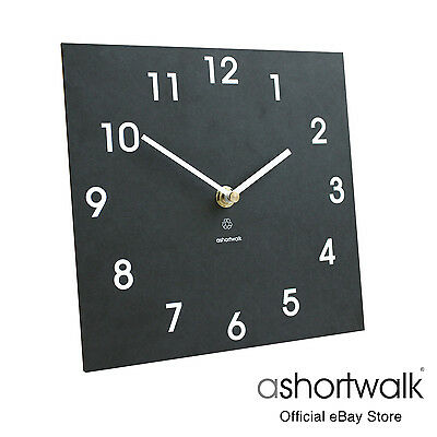 ashortwalk Eco Wall Clock Classic made from recycled paper packaging