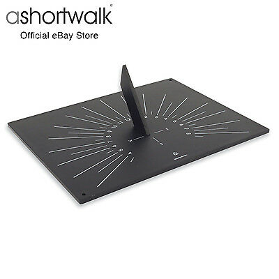 ashortwalk Eco Horizontal Rectangle Sundial made from recycled paper packaging