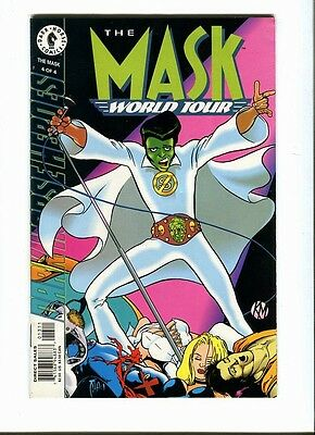 The Mask  : World Tour 4 of 4 . Dark Horse 1996 - FN / VF