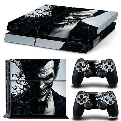 2 Controller Skins Shop For Cheap Ps4 Slim Joker Vinyl Protector Skin Sticker 0007