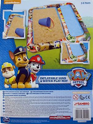 Paw Patrol Paw Patrol Inflatable Sand and Water Play Mat Garden Toy