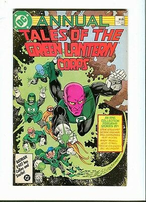 Tales Of The Green Lantern Corps annual 2. DC   1986 - FN / VF