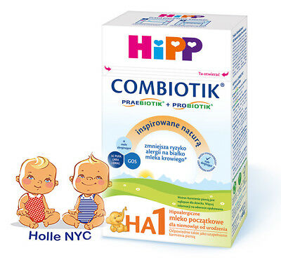 HiPP Combiotic HA 1 First Infant Milk No Starch FREE EXPEDITED SHIPPING