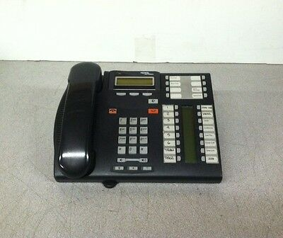 BLACK LOT OF 4 Aastra Nortel 9216  Business Phone NT2N10 W//STAND/&HANDSET