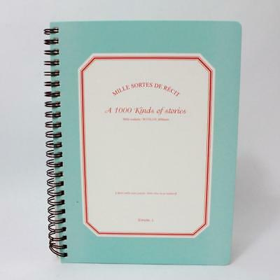 Invite L 1000 Kinds of Stories Spiral Notebook for Dreams Goals & Organizing