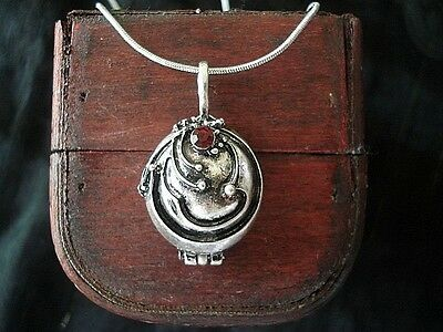 The Vampire Diaries Elena's Antique Silver Locket Necklace