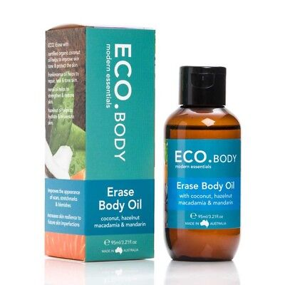 Eco. Erase Body Oil for Stretchmarks & Scars (95ml)  | BRAND NEW