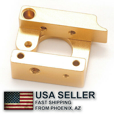 MK8 extruder aluminum block DIY kit BOWDEN / RIGHT HAND - AZ, USA
