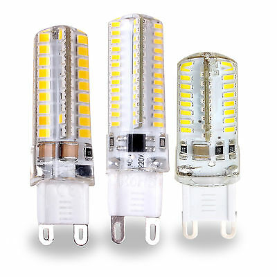 G9 3W 4W 5W Ampoule LED Lampe Spot Light SMD 3014 2835 220V Blanc Chaud Froid