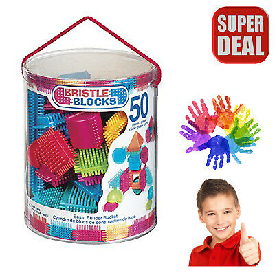 Autism Sensory Toys Blocks Piece Builder Educational Special Needs Basic Bucket