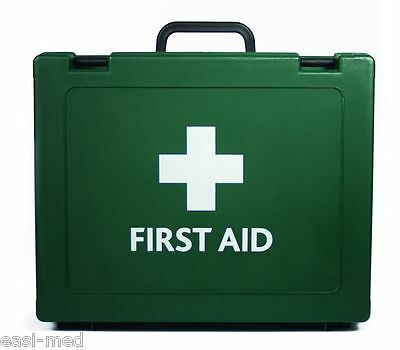BS-8599-1 Compliant LARGE Workplace First Aid Kit & Wall Bracket