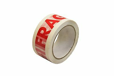 Fragile Tape, Strong Parcel Packing Roll~Durable Printed 48mm x 66m
