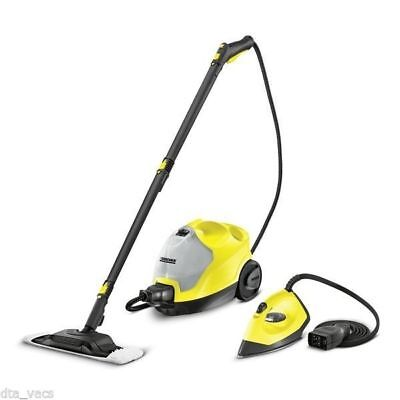 Karcher Sc 4 + Pressurized Steam Iron Kit, Multi Steam Cleaner,steam Mop,3.5 Bar