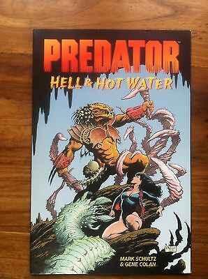 Predator Hell & Hot Water Paperback Softcover First Printing  Very Fine (F32)
