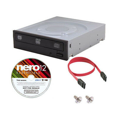 LITE-ON iHAS124 24X Internal SATA CD DVD±RW±R Burner Drive Writer + Software