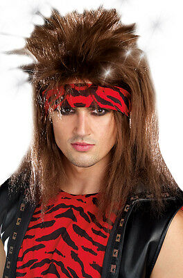 Rocker Halloween Costume Wig