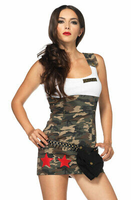 Military Bullet Belt with Pouch Halloween Costume Accessory