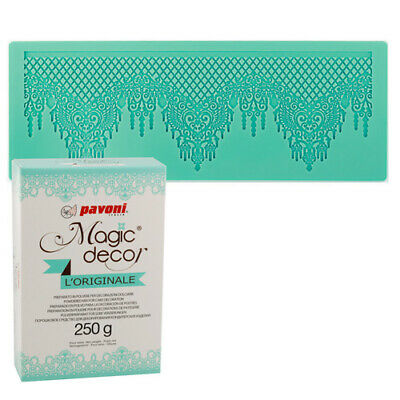 ++ Magic Decor Matte Spitzendecke + Magic Decor Pulver 250g ++
