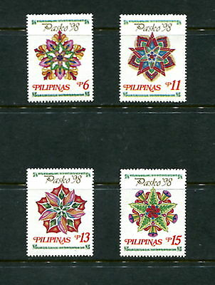 Philippines 1998  #2557-60  Christmas    Parol lanterns  4v.  MNH  E322