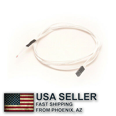 5x NTC 3950 100Kohm Thermistor with 3 feet cable - 3D printer - US STOCK