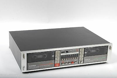 Pioneer CT-1050W Stereo Double Cassette Tape Deck AS IS