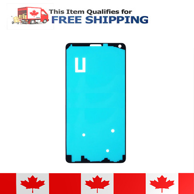 Samsung Galaxy Note 4 Front Frame Adhesive Sticker