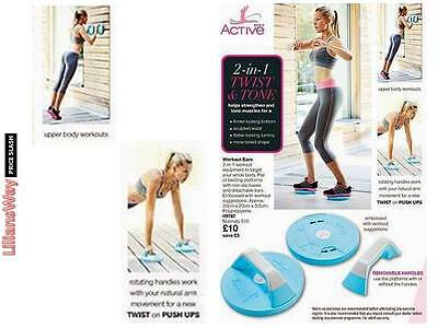 AVON Active 2 in 1 TWIST & TONE~RRP £15~BRAND NEW & SEALED~CLEARANCE