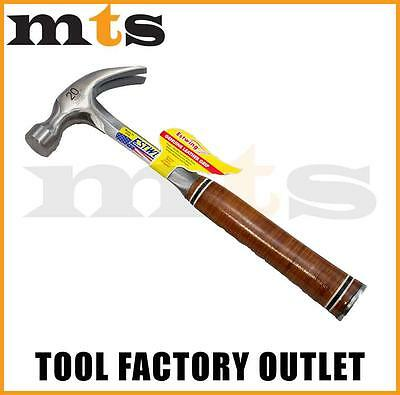 Estwing E20C Leather Handled Curved Claw Smooth Face Hammer