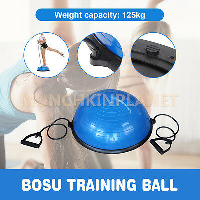 New Bosu Yoga Balance Ball Yoga Gym Exercise Fitness Core Pilates trainer Ball