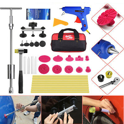 PDR Tools Slide Hammer Puller Paintless Dent Repair Lifter Hail Ding Set Tap Kit