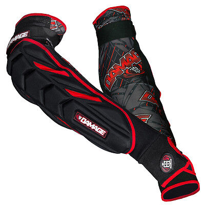 Tampa Bay Damage Paintball Elbow  Pads