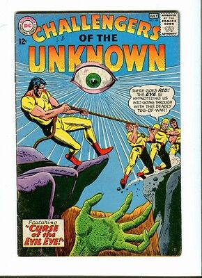 Challengers of the Unknown 44 . DC  1965 -   VG +