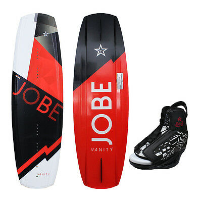 Jobe 2016 Vanity White Wakeboard Package with Republik Boots- 141cm
