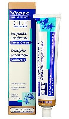 C.E.T. Enzymatic Toothpaste 70 gram Beef