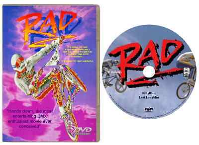 RAD DVD (1986) HD 720p WIDESCREEN Special Edition BMX Racing Movie NEW & SEALED