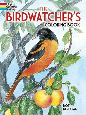 The Birdwatcher's Coloring Book (Dover Nature Coloring Book)  (Paperback)